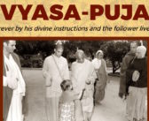 Release of ISKCON 50 Vyasa-puja posters