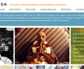 SPPC launches new Srila Prabhupada website for non-devotees